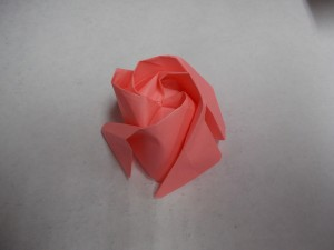 Origami heart-Final product... :-) Pretty awesome right?! :-) Totally..